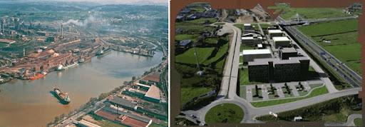 Transformación que buscaba la Reconversión Industrial (Fuente: onocentauros.com)